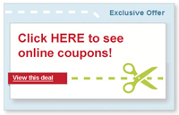 Click Here for online coupons