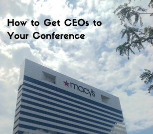 How to Get CEOs to Your Conference