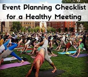 Healthy Meeting and Event Planning Checklist